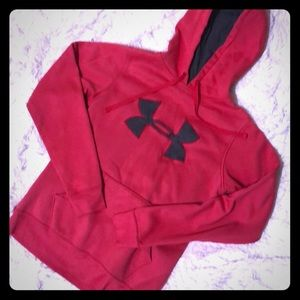Under Armour large logo hoodie